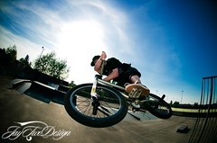Jordan Carr (JayTwoDesign.co.uk) Tags: park carr nikon bmx ramp fisheye jordan xup d300 105mm