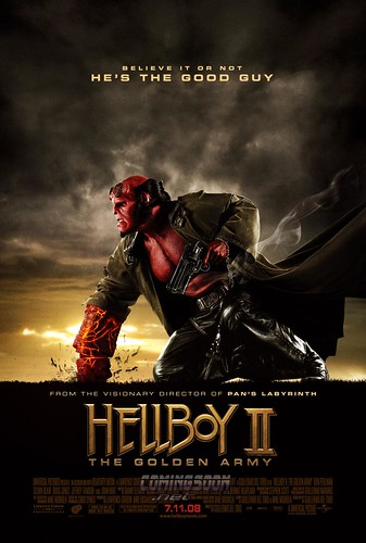 Superhero Wallpapers-Hell Boy 2
