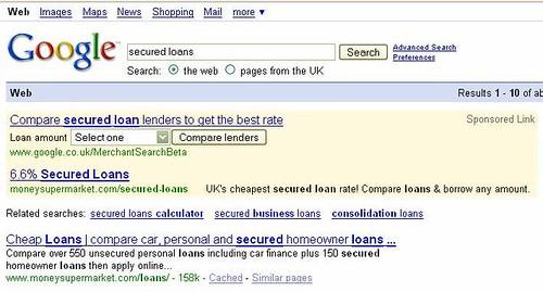 Google Merchant Search