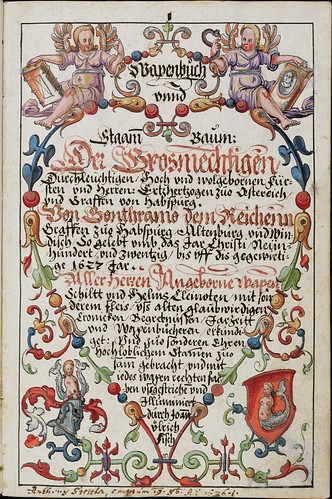 Wappenbuch des Hans Ulrich Fisch b