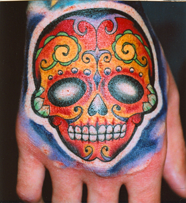 skull_hand Tattoo by Jack at Fate