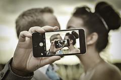 Love on loop (ShellWoodward) Tags: love marriage kiss loop newlyweds photoshop manipulation firstkiss phone samsung nokia nexus summer2016 couple heart valentines wedding weddingphotography