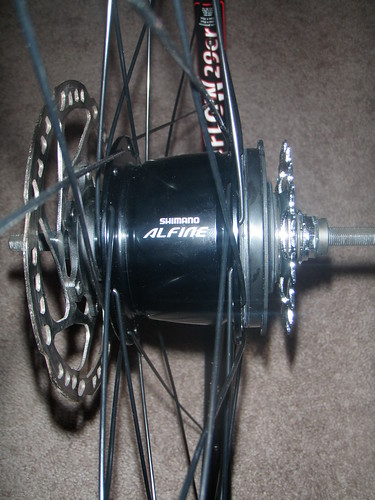New Alfine/Stans Flow 29er rear wheel