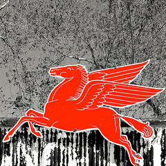 iphone pegasus. 2010. (eyetwist) Tags: road red arizona horse sign mobile vintage logo route66 steel crossprocess pegasus lofi mother mobil itunes icon 66 gasstation route signage processing oil americana petrol gasoline technique processed vignette colorsplash camerabag dropbox 3gs servicestation apps petroleum lores iphone workflow hackberry rt66 motherroad us66 mobilgas mobiloil horsewithwings eyetwist photofx fadingamerica mobilephotography fauxanalog bestcamera lomob eyetwistkevinballuff iphoneography tiffenphotofx focallab photoforge picinfo millcolour picgrunger psmobile picturefxr