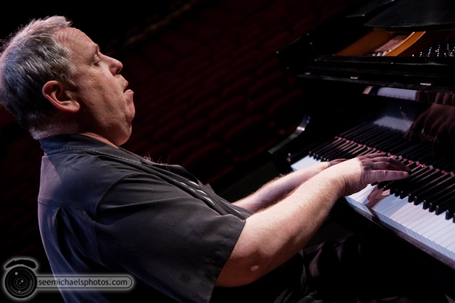Kenny Werner and Mike Wofford at Birch North Park Theatre 40710 © Michael Klayman-006