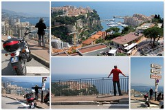 Monaco.. First views (Mike-Lee) Tags: france mike collage nice jill picasa montecarlo monaco motorbike stmichel fontvieille nicetrip stroman lacolle larvotto lacondamine moneghetti suzukivanvan april2011 lesrevoires