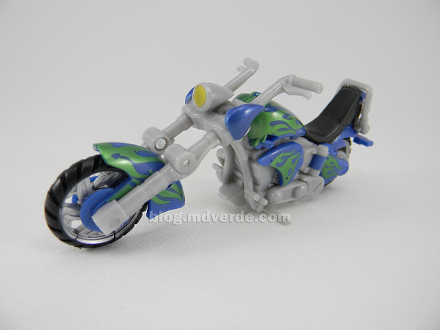 Transformers Brimstone Hunt for the Decepticons Scout - modo alterno