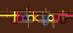 Thank You artwork (ben.bibikov) Tags: brown thanks modern design words colorful thankyou bright you vibrant postcard appreciation thank card trendy greeting appreciate thanx thanku bibikovacom