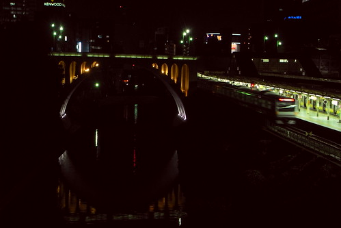 Hijiri-Bridge red +1 photo by R7