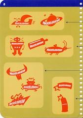 Nickelodeon Logo Logic 8 - by Fred Seibert