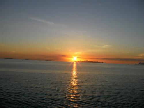 サムイ島-夕日