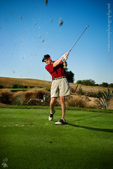 Golf Photography in Arizona  Corporate Event Photographer - TPC Scottsdale hole #16  - Swinging golfer photo (ACME-Nollmeyer) Tags: blue arizona man green club golf corporate interestingness cookie action outdoor acme swing event golfing editorial scottsdale recreation swinging onlocation tpc sunpak 622 strobist hole16 theplayersclub acmephotographynet phoenixphotographer