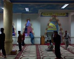 Sholat Time (Ikhlasul Amal) Tags: lamp prayer praying mosque calligraphy prayers masjid moslem  km57