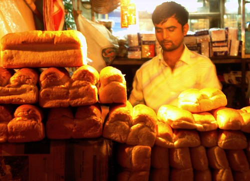 Man can not survive on bread alone...