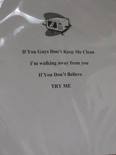 If You Guys Don't Keep Me Clean I'm walking away from you If you don't Believe TRY M