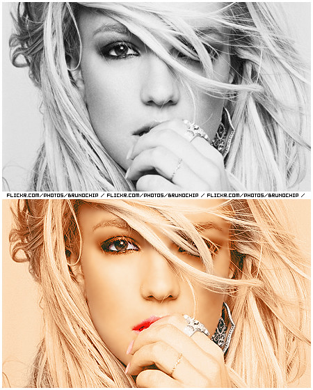color: britney spears | it's britney, bitch! by brunochip