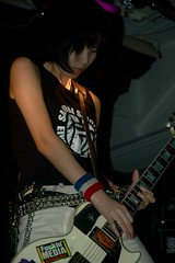 Akiakane - Samurai Punk Rock Girls (Steve Leggat) Tags: wild cute japan japanese crazy punk published fuck taiwan punkrock taipei girlband  taipeitimes akiakane samuraipunkrockgirls