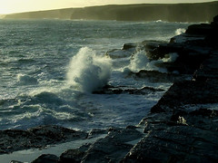 Waves Breaking South of Wick (Shandchem) Tags: waves breathtaking caithness diamondclassphotographer