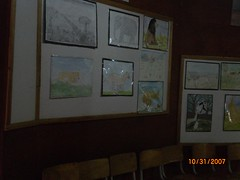 Students' artwork