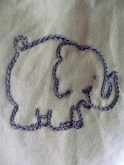 Little Elephant Embroidery