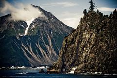 Give Me a Reason (code poet) Tags: ocean trees mountain tree water topv111 rock alaska landscape topv555 topv333 100v10f topv777 100400mm resurrectionbay