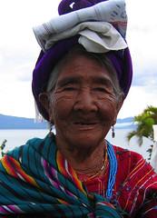 Kaqchikel Mayan woman; Panajachel, Guatemala