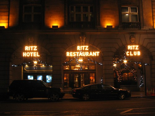 London - the Ritz Hotel 2