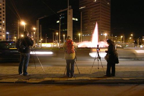 Flickr Rotterdam meetup by night