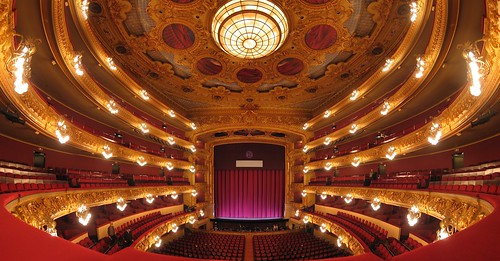 Gran Teatre del Liceu, Barcelona, Hugin panorama (stereographic)