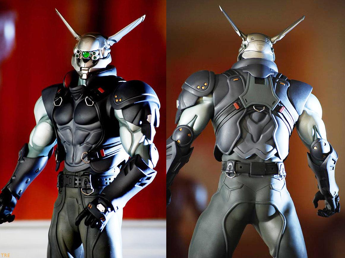 Hot Toys 1 6 Ex Machina Briareos And Deunan Image Dump