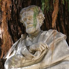 Retrato de busto de Gustavo Adolfo Bécquer. Pa...