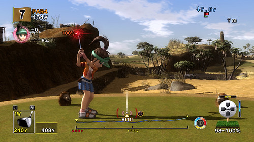 Hot Shots Golf Advanced Shot Mode 2