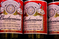 Budweiser (photomato) Tags: beer tn drink oz beverage booze 40 bud budweiser hooch ounce