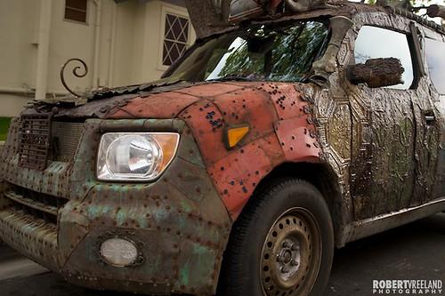 Metal Art Car