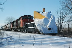 ICCN snow plow extra with 338 Wayne ILL by Mark LLanuza