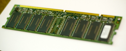 Two-slotted RAM for the dinosaur