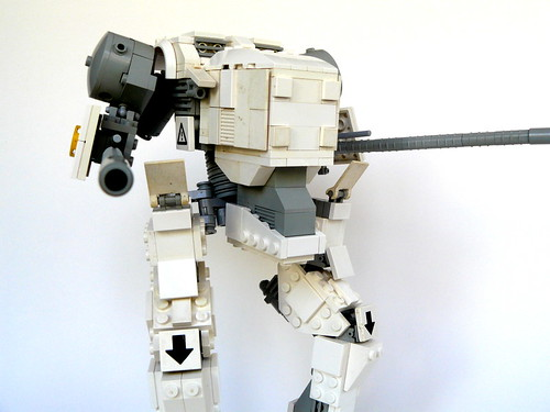 'Weathered' Lego 'mech