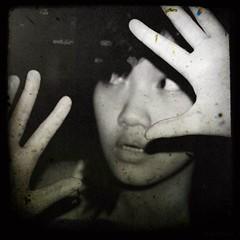 In an Alternate Dimension (nina !) Tags: bw selfportrait sp photofaceoffwinner pfogold