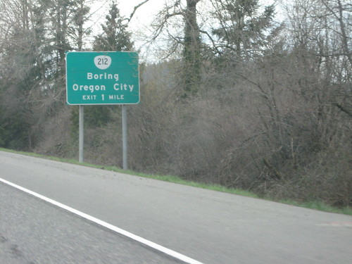 Boring Oregon City sign by functoruser