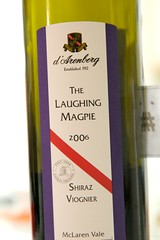 2006 d'Arenberg The Laughing Magpie Shiraz Viognier