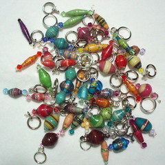 Beautiful Beaded Stitch Markers