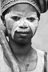 Traditional healer (Izla Kaya Bardavid) Tags: africa portrait people blackandwhite woman girl lady rural photo village traditional tribal ghana westafrica healing medecine indigenous afrique healer