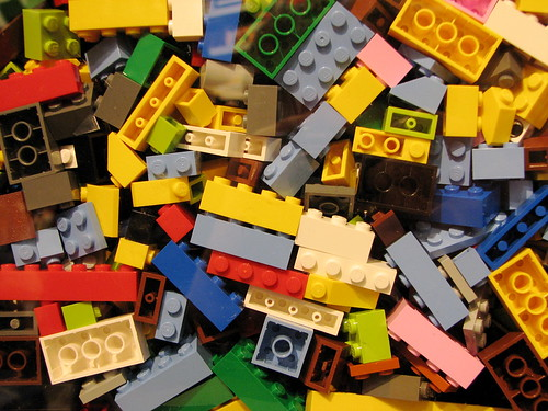 Lego bricks by bdesham on flickr
