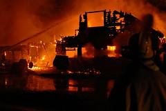 Oney's Firey Farewell (Redgum) Tags: fire d200 arson redgum activeassignmentweekly bestofweek1 bestofweek2 bestofweek3 bestofweek4 oneys elsieoregon