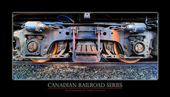Metal on Metal (Pierre Contant) Tags: railroad canada america train photoshop nikon quebec pierre rail railway tokina locomotive canadianpacific cp cpr northbay cs3 ottawavalley temiscaming 1116 contant d80 railamerica ovr anawesomeshot cans2s tokinaatx116prodx ottawavalleyrailway pierrecontant
