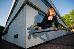 Jump (mrksaari) Tags: shadow jump helsinki parkour ceri d300 sigma1020mm sb800 strobist