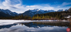 Beautiful day out in the mountains 2 (Kasia Sokulska (KasiaBasic)) Tags: fujix canada alberta vermilionlakes banff rockies mountains nature lake landscape water