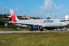 N605JB JetBlue Airways Airbus A320-232 (drgarbaiszdavid) Tags: spotter spotting planespotter planespotting plane aircraft airport airplane airlines air airways airliner aviation fly flight sky caribbean tropical jet jetliner crew picture pilot image nikon d810 photo photography jetblue blue boston red sox special livery colours a320 airbus sxm stmaarten stmartin phillipsburg princess juliana international