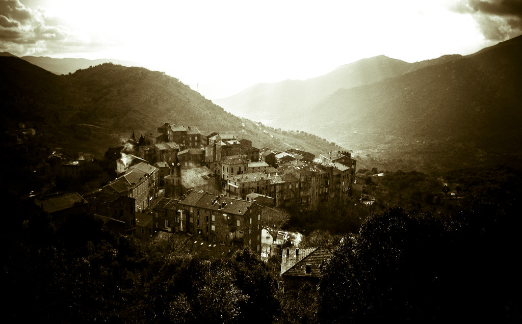 Corsican hill town