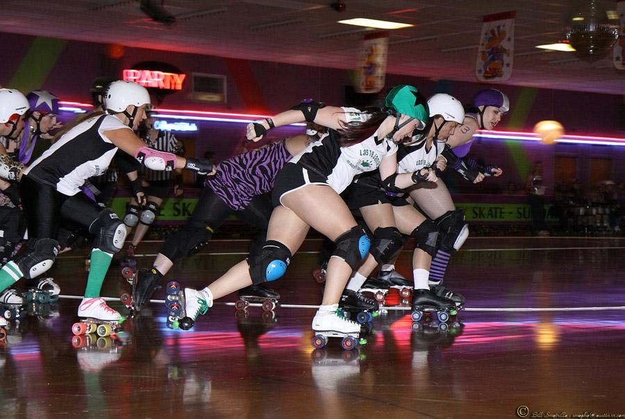 Womens Roller Derby Austin Vs San Antonio Texas